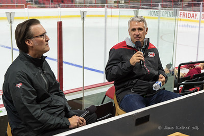 September 25, 2016. Carolina Hurricanes Caniac Carnival Red-White Scrimmage, Raleigh, NC. Copyright © 2016 Jamie Kellner. All Rights Reserved.