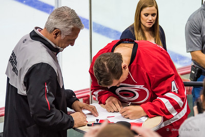 Julien Gauthier signs NHL Contract with the Hurricanes