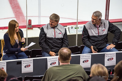 State of the Canes - Michelle McMahon with Bill Peters and Ron Francis
