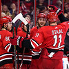 March 17, 2018. Carolina Hurricanes vs. Philadephia Flyers, PNC Arena, Raleigh, NC. Copyright © 2018 Jamie Kellner. All Rights Reserved.