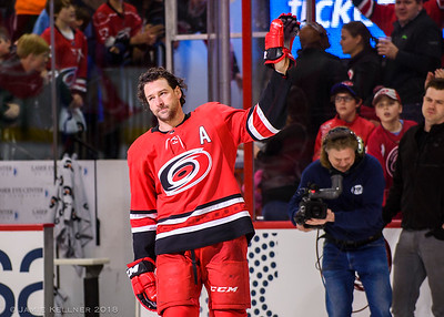 April 7, 2018. Carolina Hurricanes vs. Tampa Bay Lightning, PNC Arena, Raleigh, NC. Copyright © 2018 Jamie Kellner. All Rights Reserved.