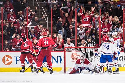 Canes vs Canadiens 12.27.17