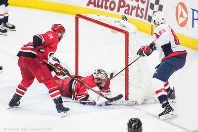 January 12, 2018. Carolina Hurricanes vs. Washington Capitals, PNC Arena, Raleigh, NC. Copyright © 2018 Jamie Kellner. All Rights Reserved.