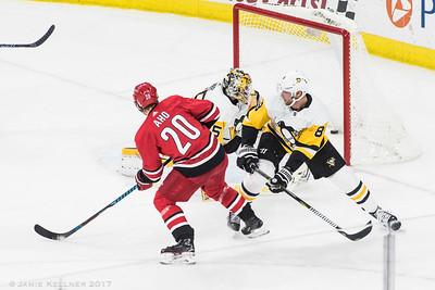 Canes vs Penguins 12.29.17