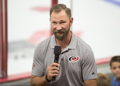 September 17, 2017. Carolina Hurricanes Caniac Carnival, PNC Arena, Raleigh, NC. Copyright © 2017 Jamie Kellner. All Rights Reserved.
