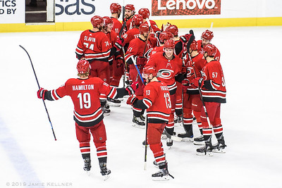 April 4, 2019. Carolina Hurricanes vs. New Jersey Devils, PNC Arena, Raleigh, NC. Copyright © 2019 Jamie Kellner. All Rights Reserved.