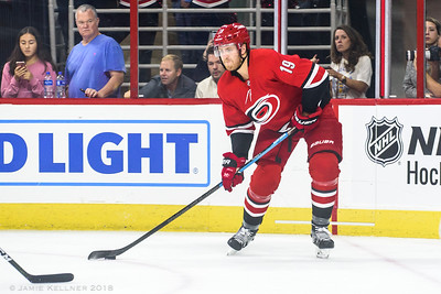 October 4, 2018. Carolina Hurricanes vs. New York Islanders, PNC Arena, Raleigh, NC. Copyright © 2018 Jamie Kellner. All Rights Reserved.