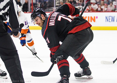 May 1, 2019. Carolina Hurricanes vs. New York Islanders, Game 3 Stanley Cup Playoffs Round 2, PNC Arena, Raleigh, NC. Copyright © 2019 Jamie Kellner. All Rights Reserved.