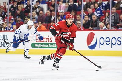 November 21, 2018. Carolina Hurricanes vs. Toronto Maple Leafs, PNC Arena, Raleigh, NC. Copyright © 2018 Jamie Kellner. All Rights Reserved.