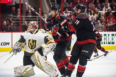 February 1, 2019. Carolina Hurricanes vs. Vegas Golden Knights, PNC Arena, Raleigh, NC. Copyright © 2019 Jamie Kellner. All Rights Reserved.