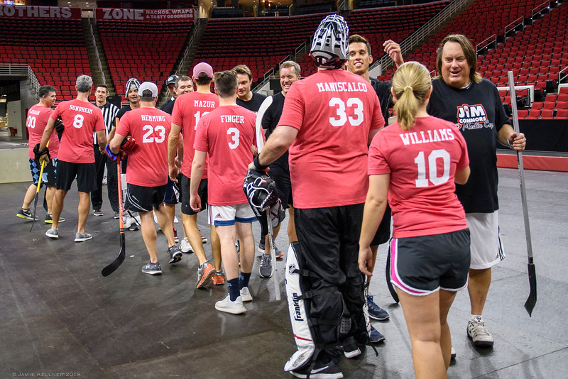 September 4, 2018. Carolina Hurricanes Jim Connors Media Cup, PNC Arena, Raleigh, NC. Copyright © 2018 Jamie Kellner. All Rights Reserved.