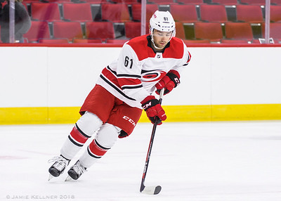 June 30, 2018. Carolina Hurricanes Summerfest Prospect Camp Scrimmage, PNC Arena, Raleigh, NC. Copyright © 2018 Jamie Kellner. All Rights Reserved.