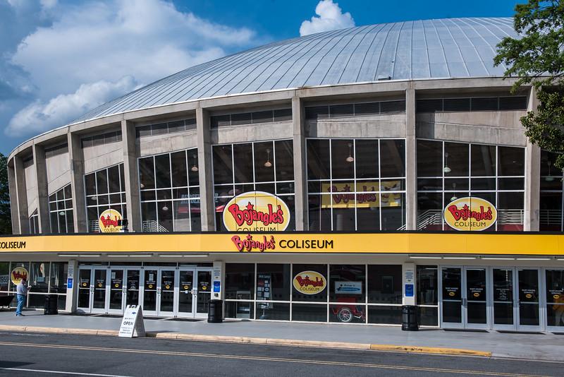 April 21, 2017. Charlotte Checkers vs Chicago Wolves, Bojangles Coliseum, Charlotte, NC. Copyright © 2017 Jamie Kellner. All Rights Reserved.