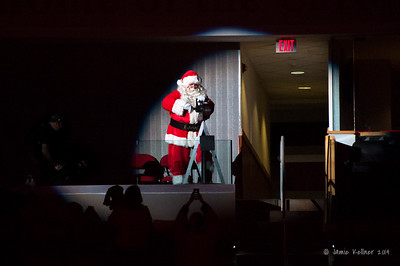 Santa on the Siren