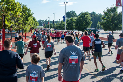 September 8, 2013. Canes 5k benefitting the Carolina Hurricanes Kids 'N Community Foundation, PNC Arena, Raleigh, NC. Copyright © 2013 Jamie Kellner. All rights reserved.