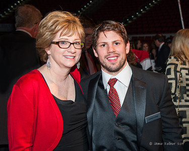 Nathan Gerbe. February 1, 2014. Carolina Hurricanes Casino Night and Wine Tasting, benefitting the Kids 'N Community Foundation, PNC Arena, Raleigh, NC.  Copyright © 2014 Jamie Kellner. All Rights Reserved.