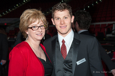 Jeff Skinner. February 1, 2014. Carolina Hurricanes Casino Night and Wine Tasting, benefitting the Kids 'N Community Foundation, PNC Arena, Raleigh, NC.  Copyright © 2014 Jamie Kellner. All Rights Reserved.