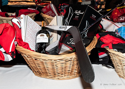 February 1, 2014. Carolina Hurricanes Casino Night and Wine Tasting, benefitting the Kids 'N Community Foundation, PNC Arena, Raleigh, NC.  Copyright © 2014 Jamie Kellner. All Rights Reserved.