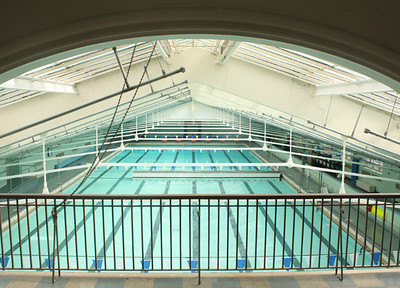 Bowman Gray Indoor Pool closed