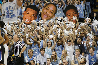 UNC defeated Duke 74-66 at the Dean Smith Center on Thursday, Feb. 20.