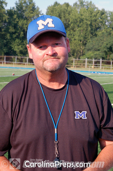 Mooresville head football coach Hal Capps.