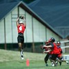 Page #4 Sr. WR Brian Spain - ESPN Mel Kiper Jr. 7on7U @ Guilford College