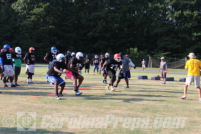 Shrine Bowl Invite Combine - Randleman HS.   Photo Credit: Chris Hughes 7/17/2015