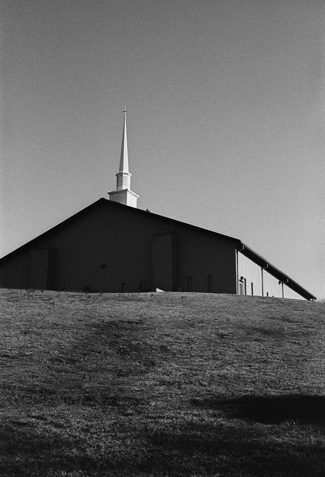 NC, Asheville, January 2014, M2 ZM-50 Tri-X 400