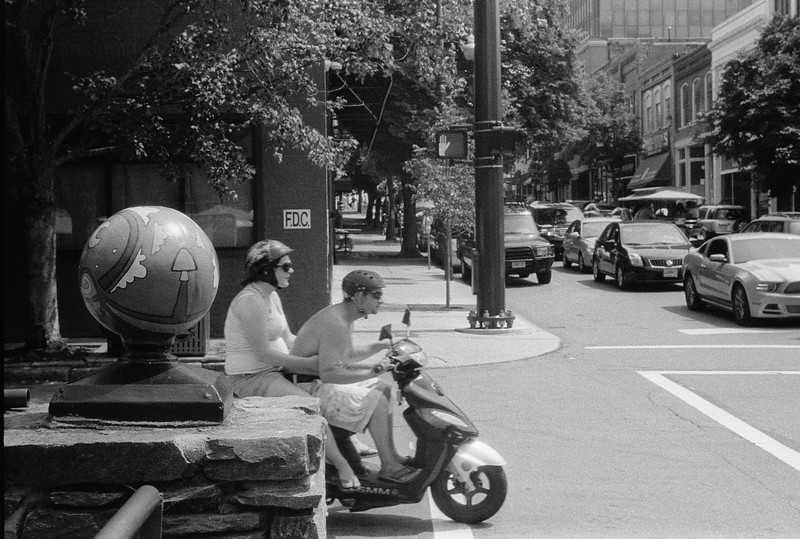 NC, Asheville, July 2014, iiif Summar Tri-X 400