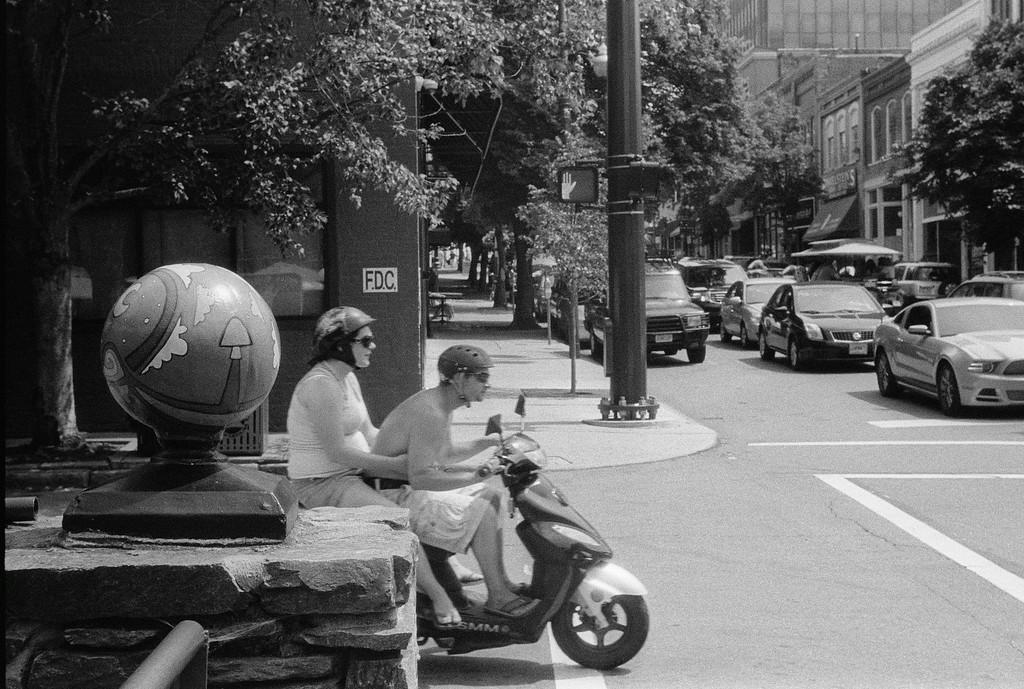 NC, Asheville, July 2014, iiif Summar Tri-X 400