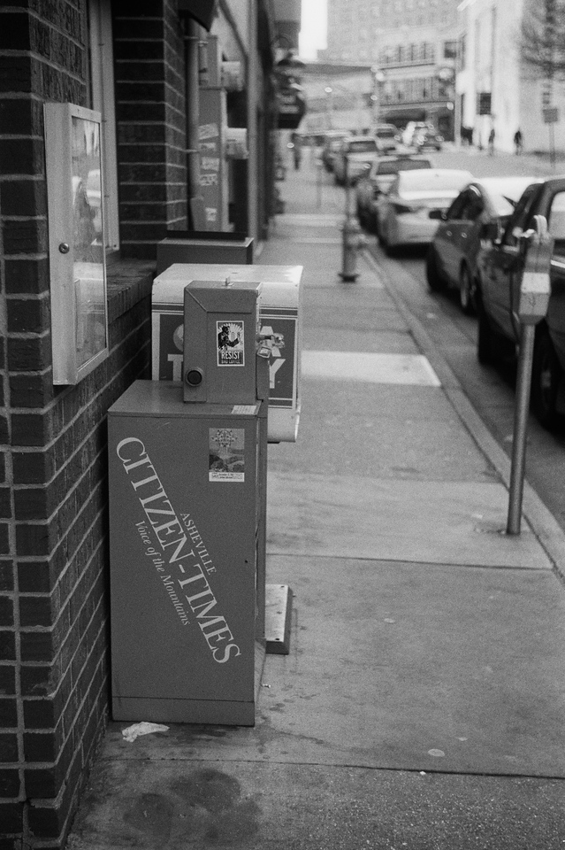 NC, Asheville, December 2012, iiif Summar Tri-X 400