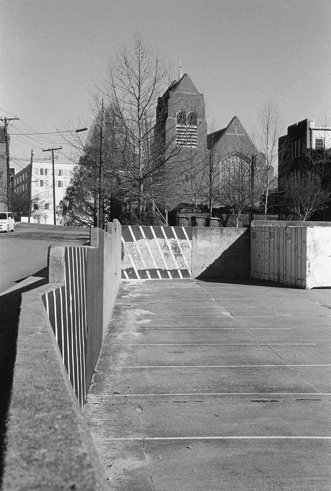 NC, Asheville, February 2013, BT Summar Tri-X 400