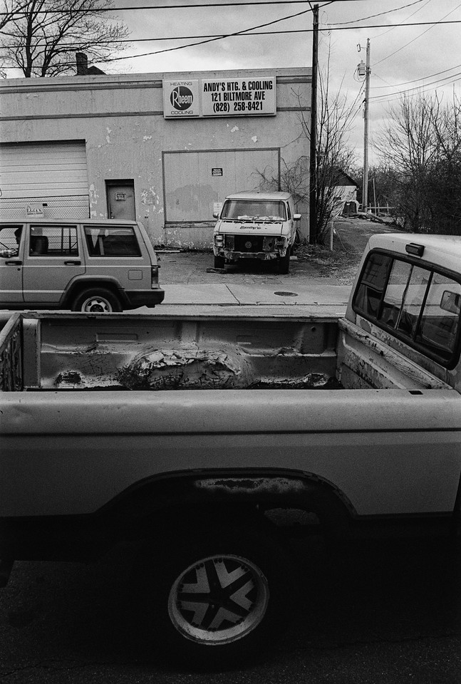 NC, Asheville, March 2013, M2 CV-35 Tri-X 800
