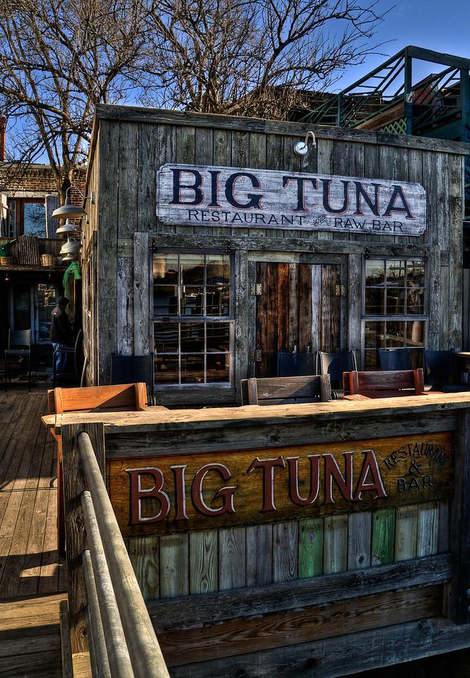 The dock side of Big Tuna