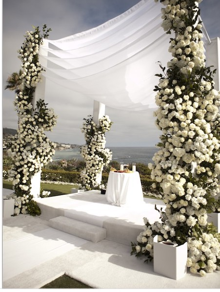 LOVE THIS STRUCTURE FOR CEREMONY - SO UNIQUE