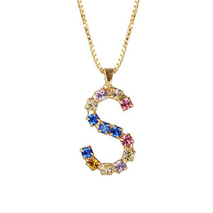 Letter Necklace / S