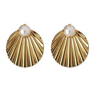 Milos Earrings / Pearl