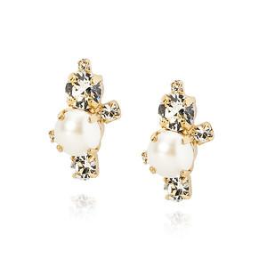 BRIDAL -  I Still Do Earring / Pearl + Crystal