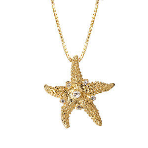 Sea Star Necklace / Crystal