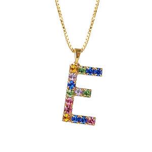 Letter Necklace / E