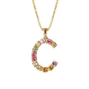 Letter Necklace / C