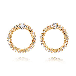 BRIDAL -  Endless Love Earring / Crystal