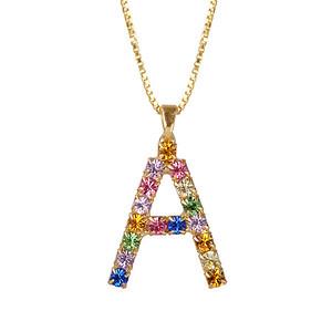 Letter Necklace / A