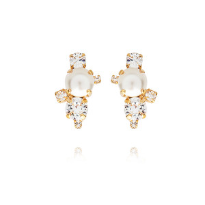 BRIDAL -  I Still Do Earring / Pearl + Cristal