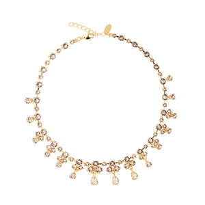 BRIDAL -  Grand Entrence Necklace / Silk