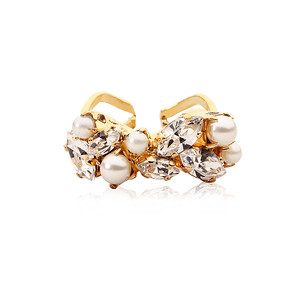 BRIDAL -  So In Love Ring / Crystal + Pearl