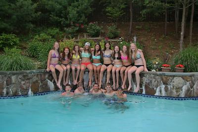 Caroline & Lauren's End of School Pool Party+