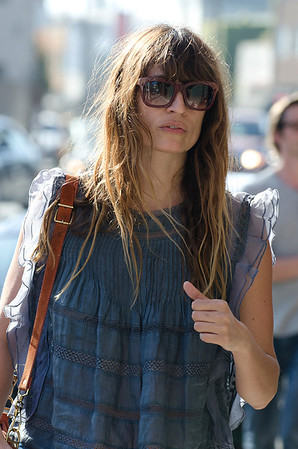 Caroline de Maigret seen in Venice