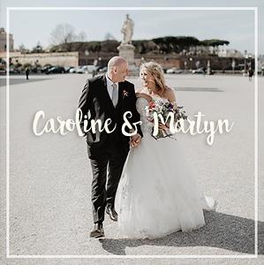 Caroline e Martyn