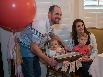 Caroline's First Birthday